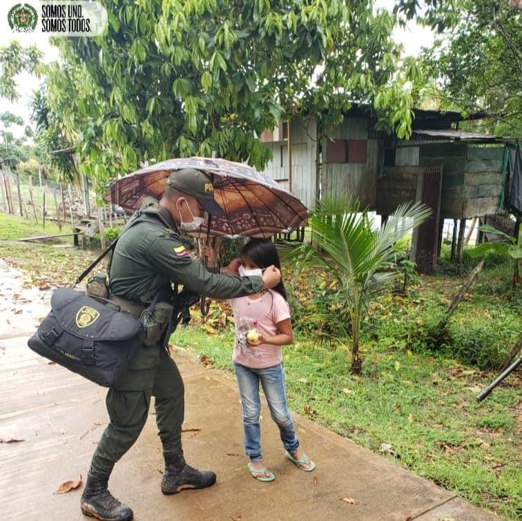 Mi Policia Te acompaña #SomoUnoSomosTodos