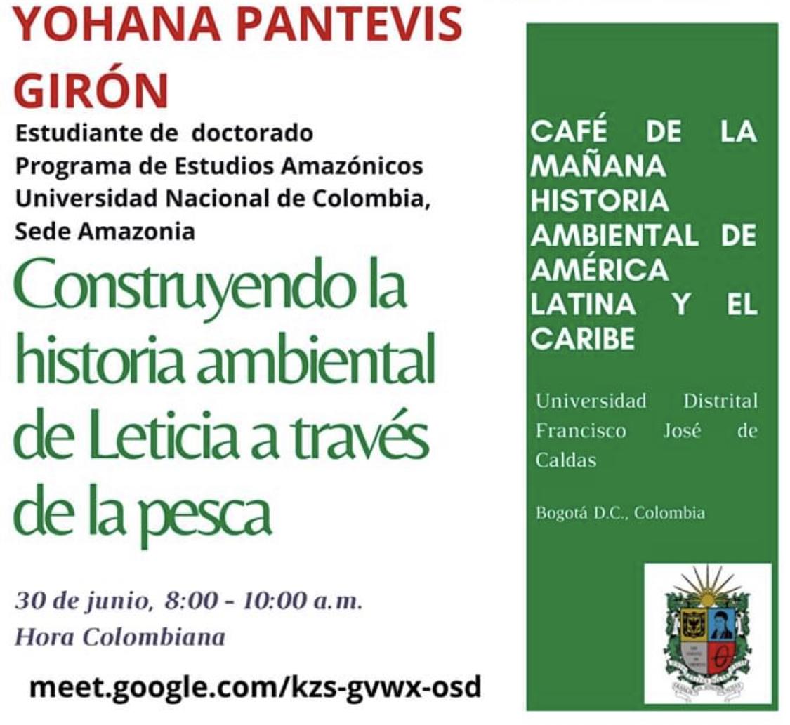 Construyendo la historia ambiental de Leticia a través de la pesca