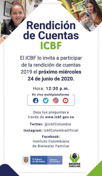 Rendición de Cuentas ICBF - Transmisión