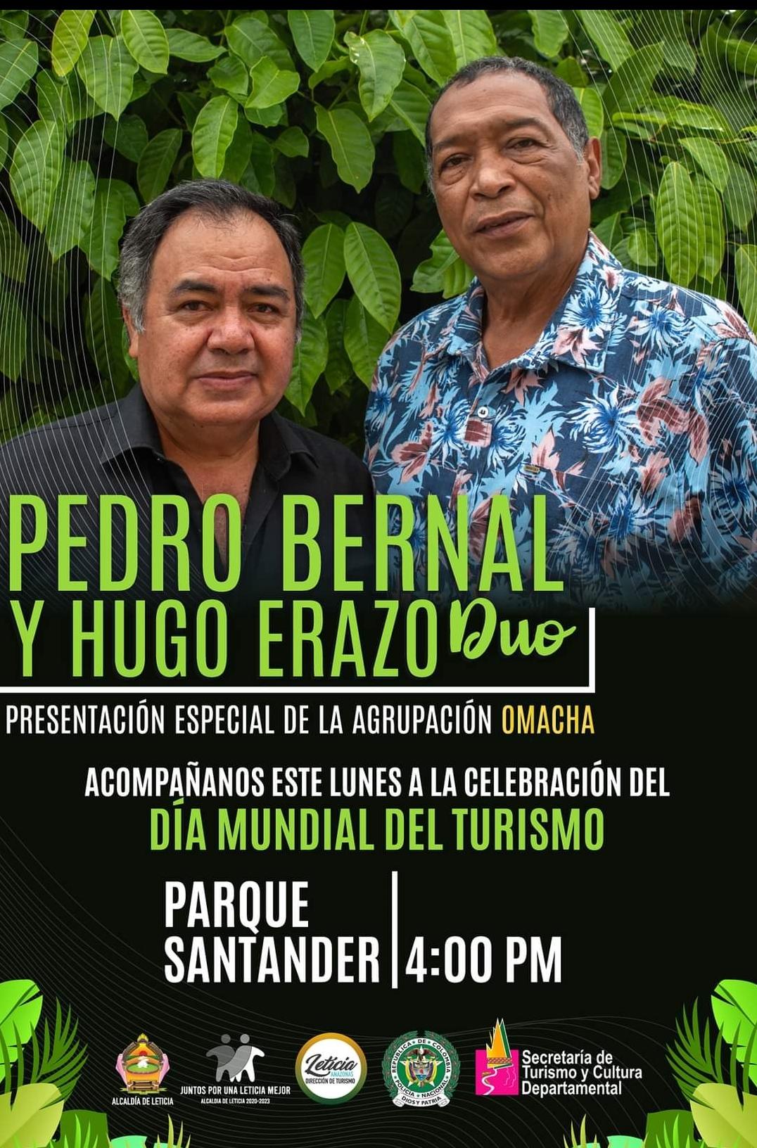Pedro Bernal y Hugo Erazo