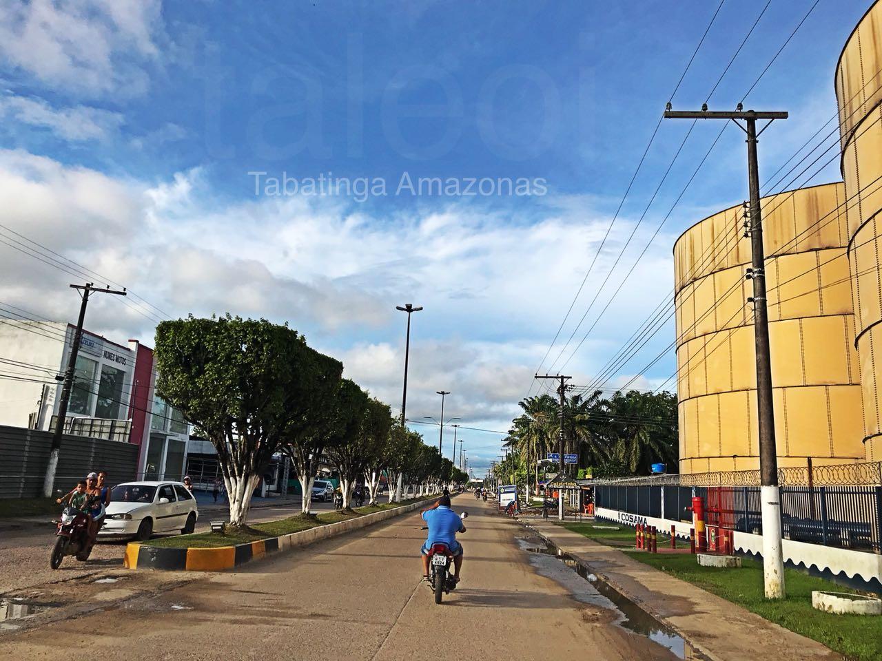 Tabatinga e suas ruas