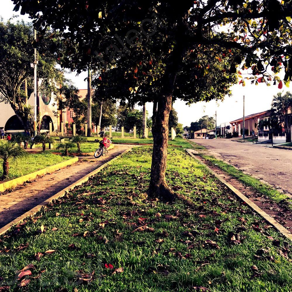Rua em Tabatinga