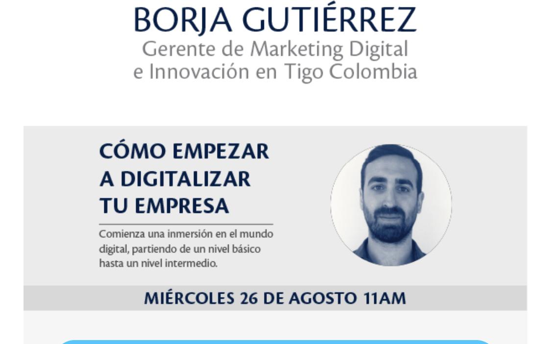 image for Cómo empezar a digitalizar tu empresa ¡Agenda tu espacio ya!