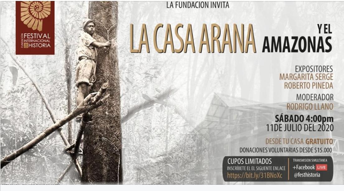 image for Conversatorio : La casa Arana y el Amazonas