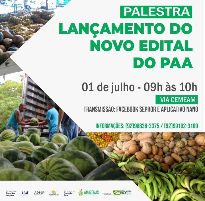 image for Palestra | Lançamento do Novo Edital do paa