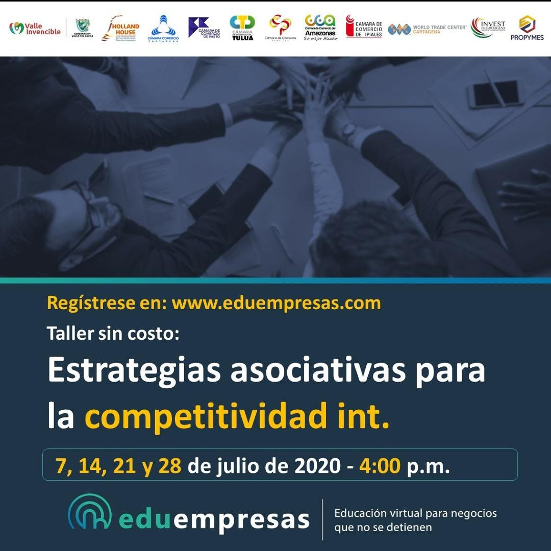 image for Taller | Estrategias asociativas para la Competitividad int.