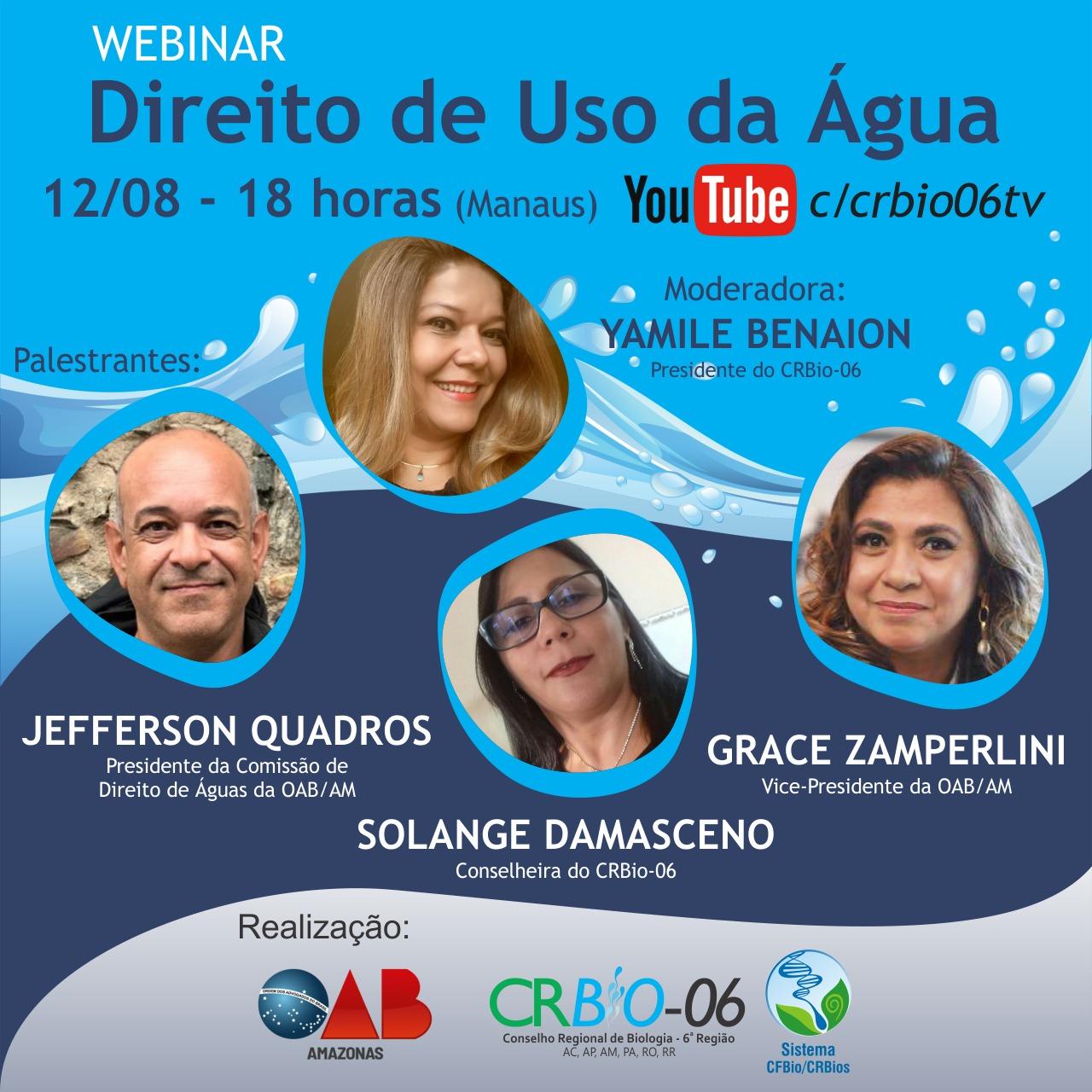 image for Webinar - Direito de uso de água