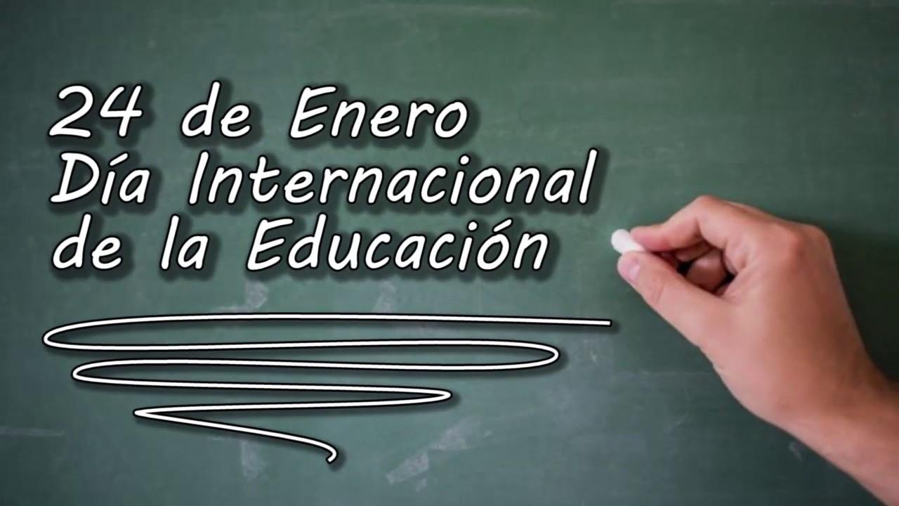 image for Día Internacional de la Educación