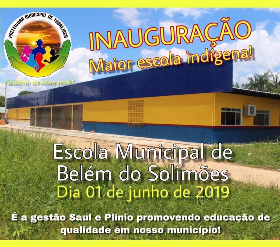image for Inauguração escola municipal indígena