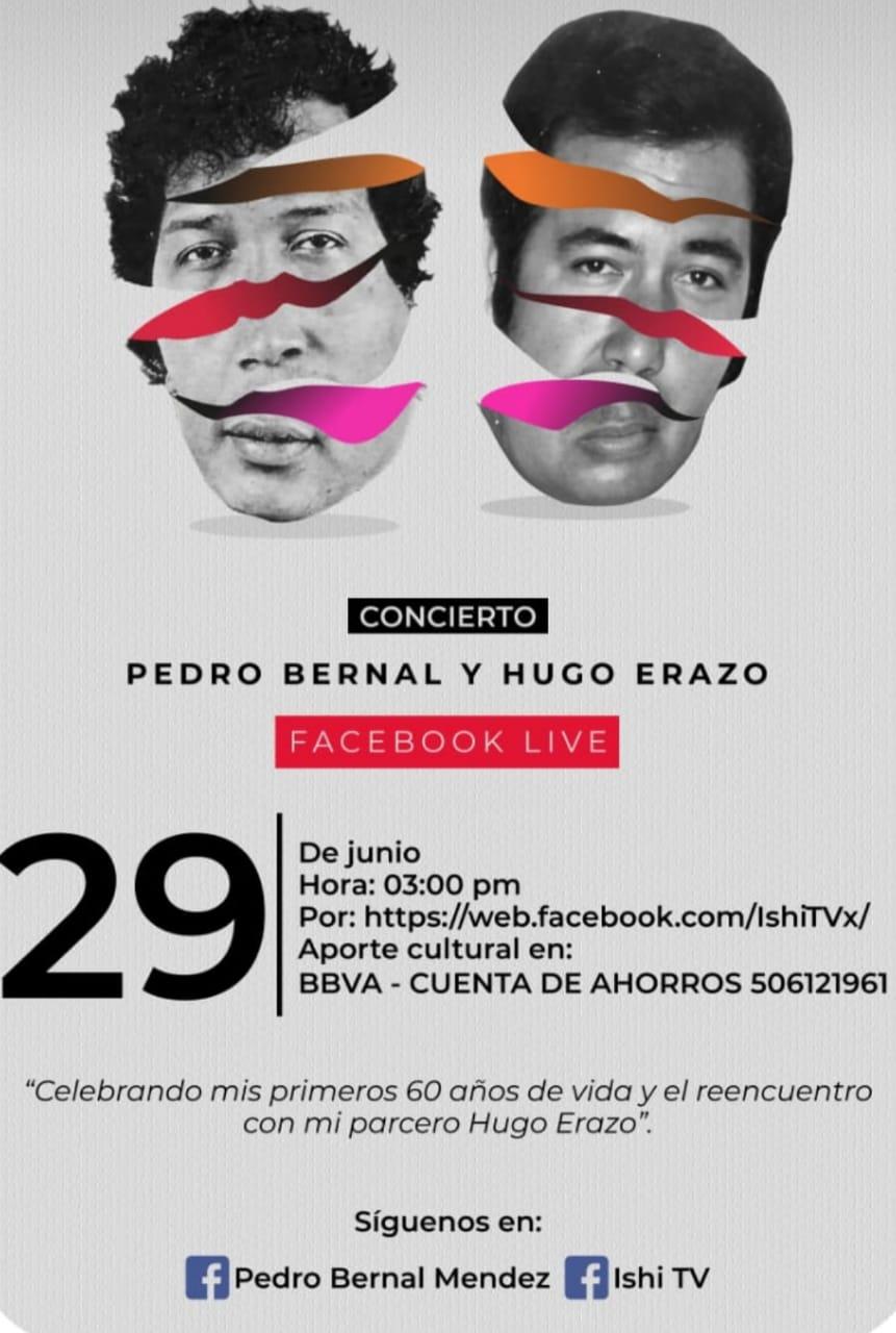 image for Concierto Libre Solidario | Pedro Bernal y Hugo Erazo