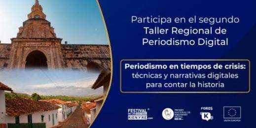 image for Taller de Periodismo Digital rumbo a Caldas, Santander y Bolívar