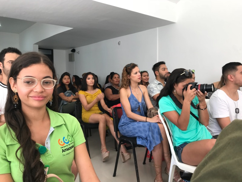 Rueda de prensa Amazonas Fashion Week
