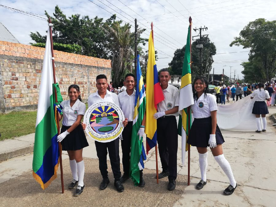 Desfile Estudiantil 19 julio Parte 1