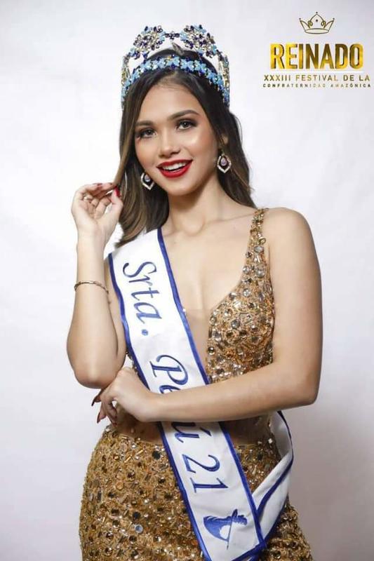 Srta. PERÚ | Candidata al Reinado XXXIII Festival de la Confraternidad Amazónica  | KIARA ALEXANDRA CHAHUD BURGA