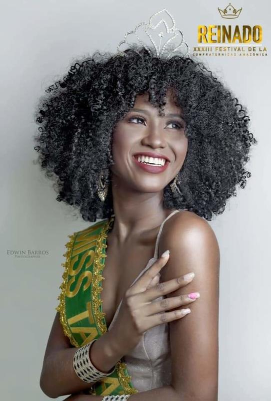 Juliana Anaia Oliveira Miss Tabatinga