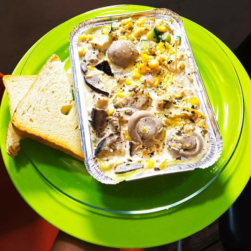 Come saludable !! Come en Café la Bendición !!