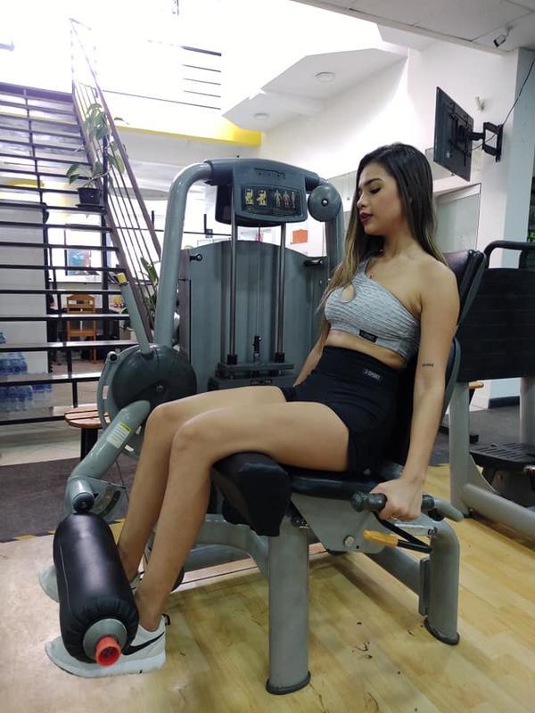 Srta Perú / Kiara Chahud en su preparación rumbo a Leticia