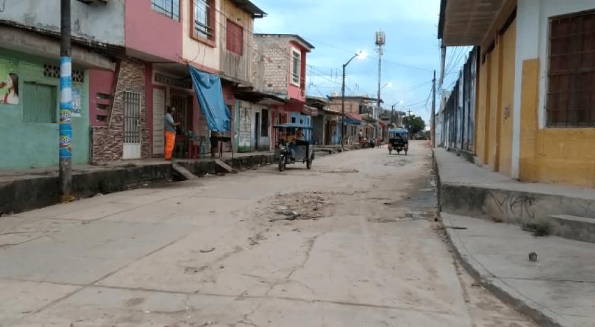 Calle Arequipa entre las calles Castañas e Iquitos