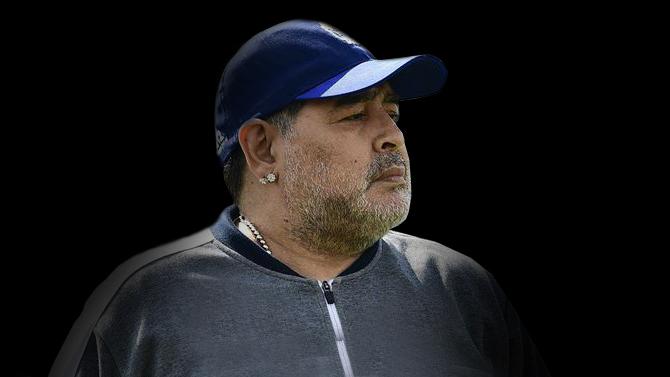 image for Morre Diego Maradona  após parada cardiorrespiratória