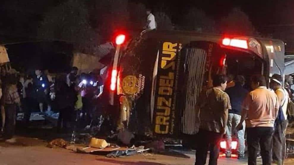image for Accidente de un bus dejó seis muertos en Cartago