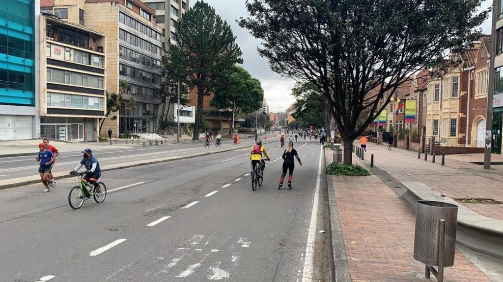 image for Cancelan ciclovía en Bogotá