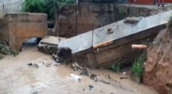image for Seis horas de lluvia intensa | Tarapoto