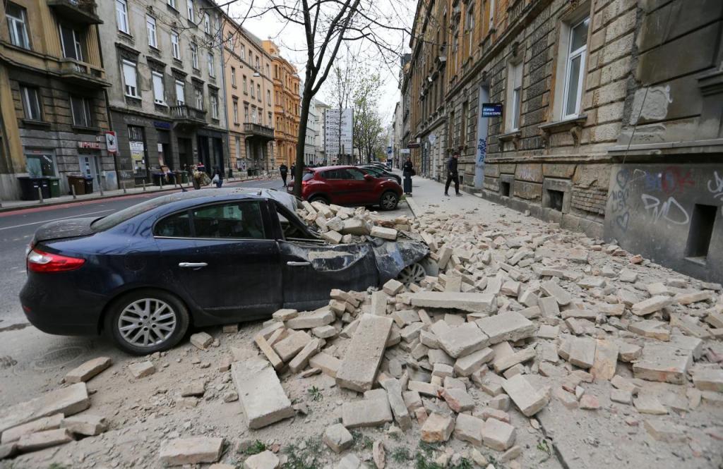 image for Temblor sacude la capital croata Zagreb