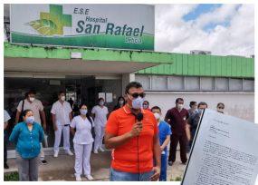 image for Renuncia masiva de médicos en hospital San Rafael