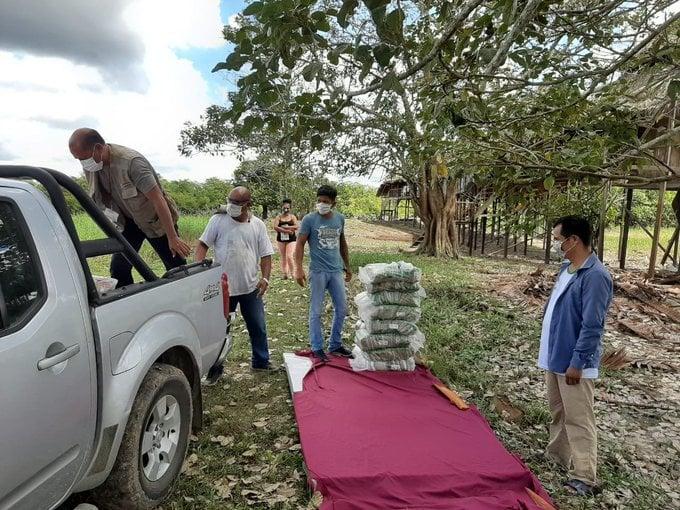 image for Ministerio de Cultura informa que continúa distribución de alimentos