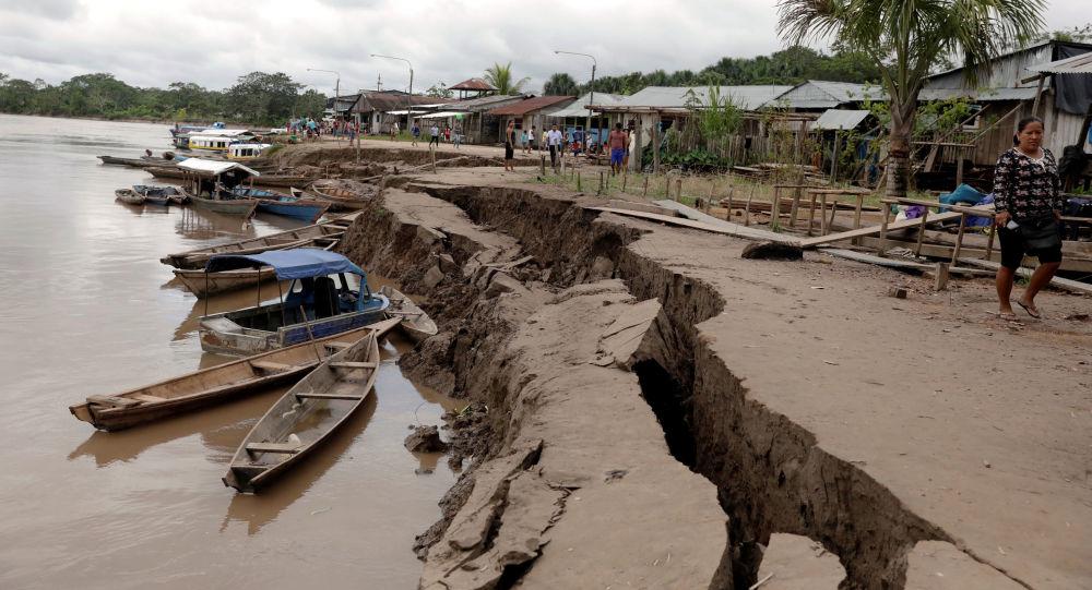 image for Terremoto de Loreto deja dos personas muertas
