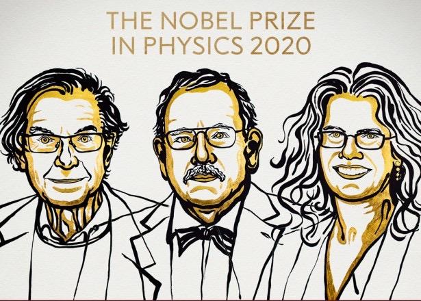 image for Nobel de Física 2020 a descubrimientos sobre agujeros negros