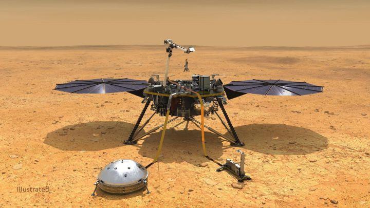 image for NASA celebra aterrizaje en Marte