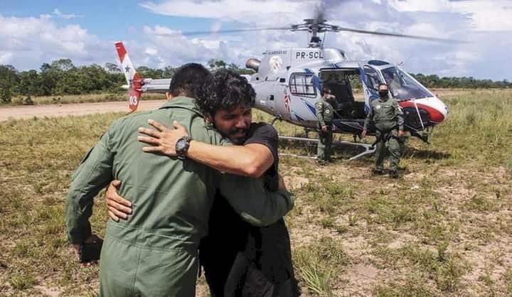 image for Piloto sobrevive 36 días en la Amazonía