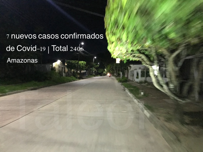 image for 7 nuevos casos confirmados de Covid-19 | Total 2406
