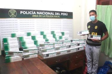image for Policía Fiscal incauta grande cantidad de cigarros de contrabando