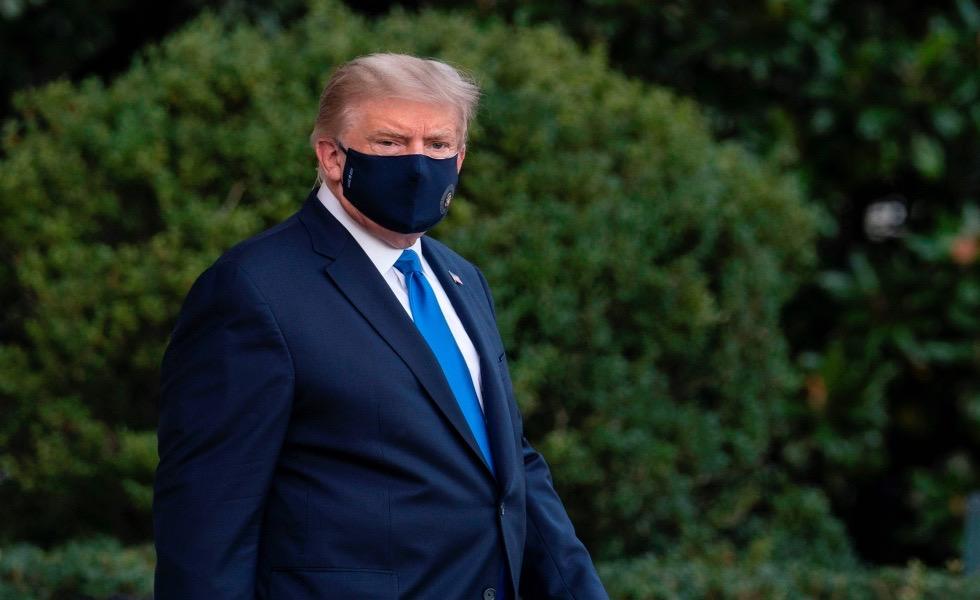 image for Donald Trump será  hospitalizado por mal estado de salud