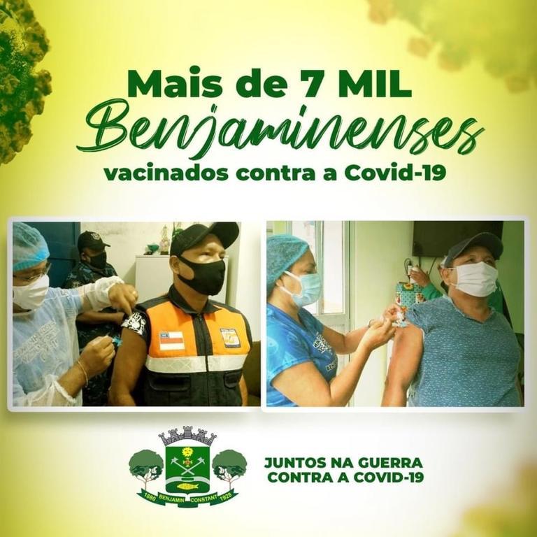 image for Avanço da imunização contra a Covid-19