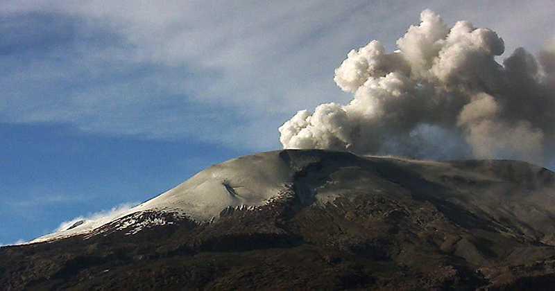 image for Advierten incremento en actividad sísmica en Nevado del Ruiz