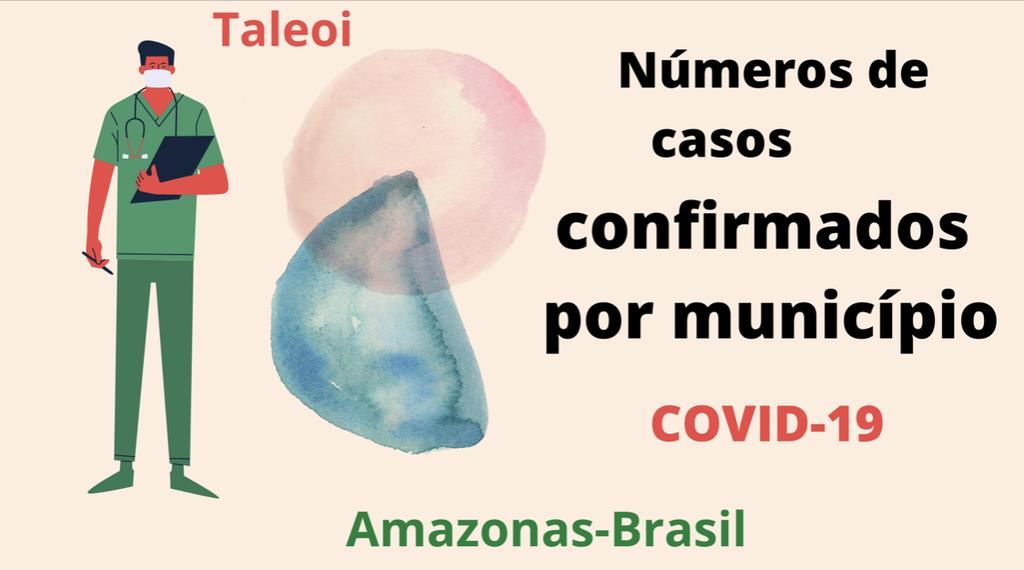 image for Números de casos confirmados por município