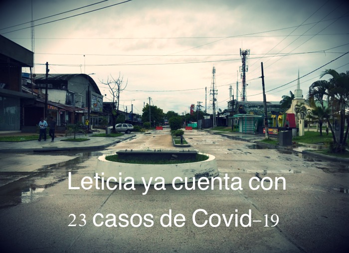 image for Ciudad de Leticia ya cuenta con 23 casos de Covid-19