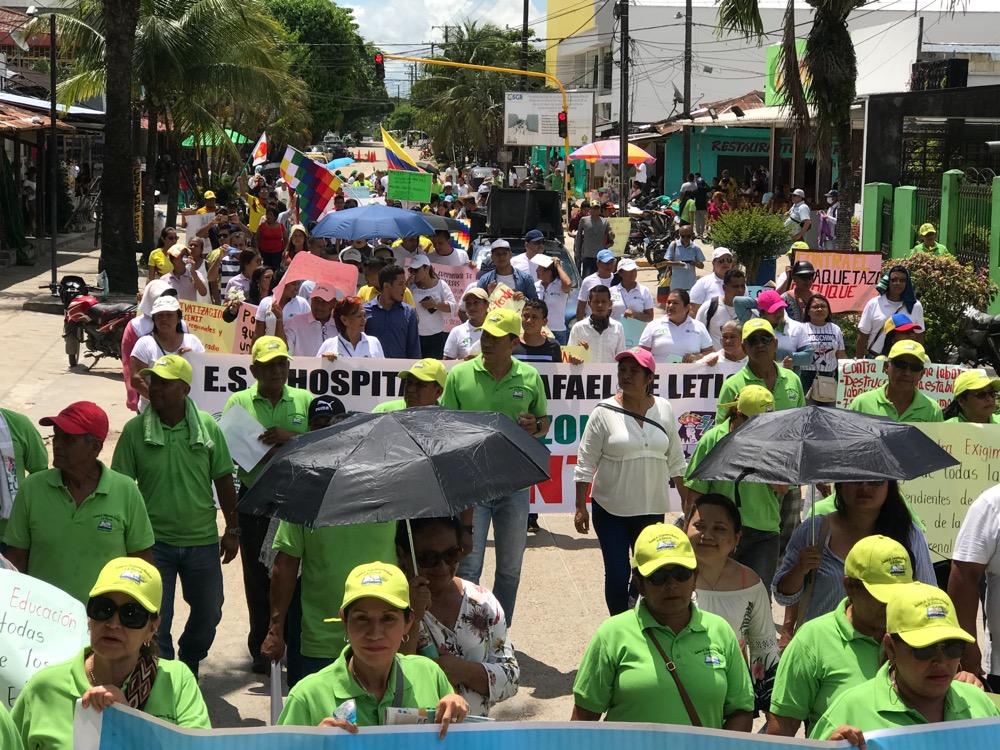 image for Leticianos marcharon en total normalidad