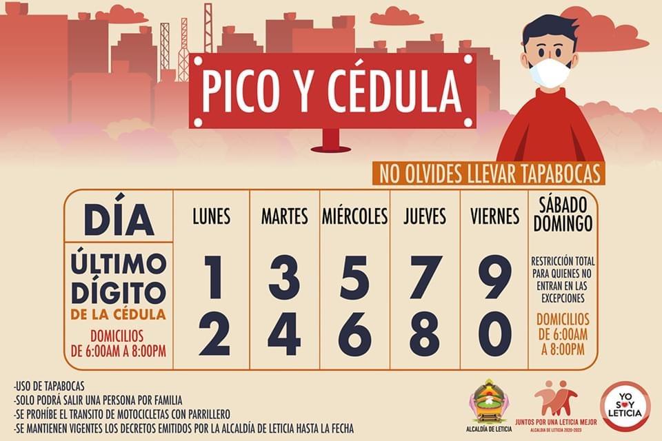 image for Nueva medida de Pico y Cédula en la ciudad