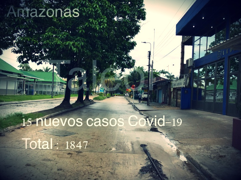 image for 15 nuevos casos confirmados de Covid-19 | Total 1847