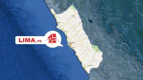 image for Sismo en región de Lima con epicentro a 35 kilómetros al oeste de Huaral