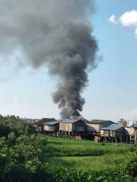 image for Incendio en el distrito de San Juan Bautista