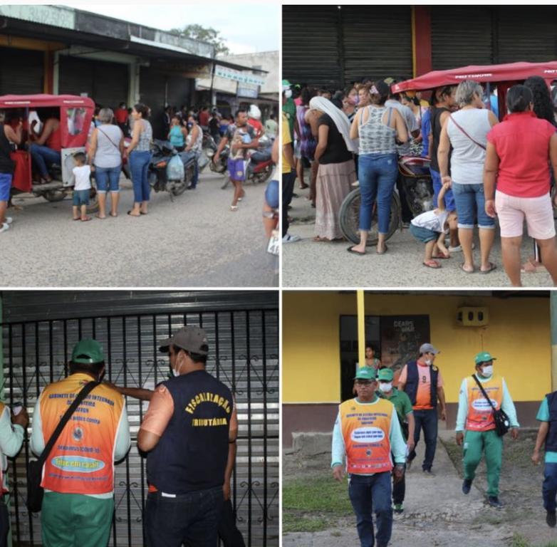 image for Populares denunciaram aglomeração de pessoas na rua Santos Dumont