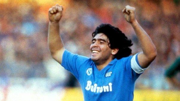image for Ciao Diego el Nápoles despide a Maradona