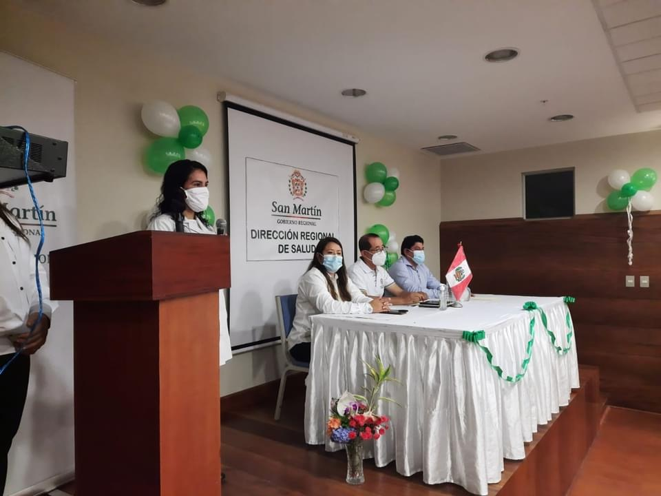 image for Nueva directora de la OGESS Alto Huallaga