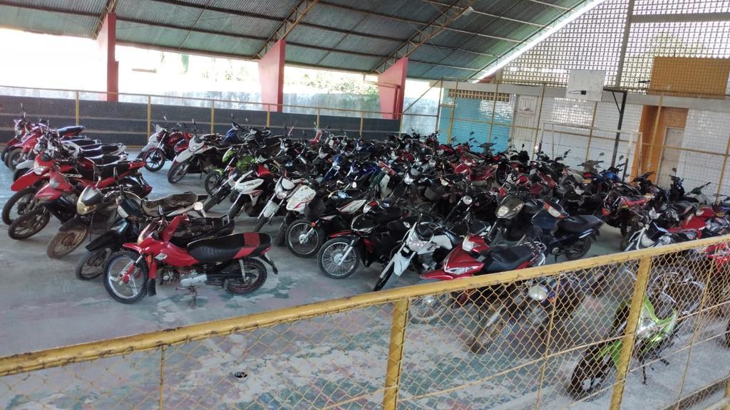 image for Foram apreendidas 77 motocicletas e 4 carros
