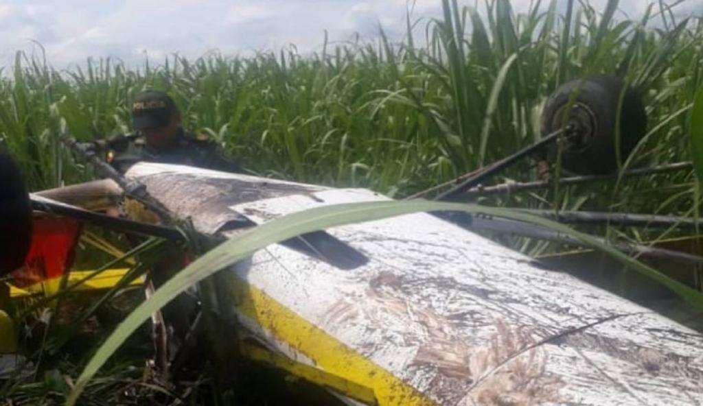 image for Avioneta se precipitó  en el municipio de Bugalagrande